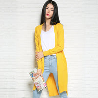 2017 New Women Casual Cardigans Spring Coat-Justt Click
