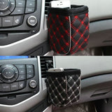 Mobile Phone Bag Multi-functional Auto Supplies Bag Car Storage Pockets (Color: Black)-Justt Click