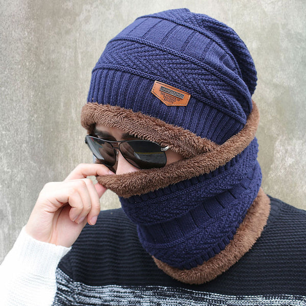 eb57db2c438 2016 new knitted hat fashion Beanies Knit Men s Winter Hat Caps Skullies  Bonnet For Men Women