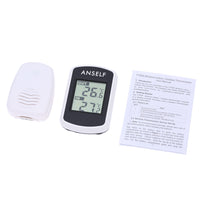 Digital LCD Wireless Thermometer Electronic Temperature Meter Weather Station Indoor Outdoor Tester - Justt Click