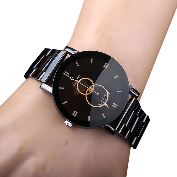 Fashion Quartz men Watches Brand Men Military Steel Sports Creative Mens Watches Casual dress Clock Relogio Masculino-Justt Click
