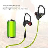 Fashion Bluetooth Ear Hook Wireless Sports Stereo Waterproof Headset - Justt Click