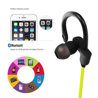 Fashion Bluetooth Ear Hook Wireless Sports Stereo Waterproof Headset-Justt Click