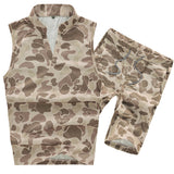 High Quality Army Clothing Tactical Frog Camouflage Suit Woodland Outdoor Clothing-Justt Click