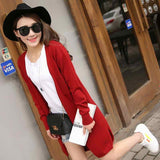2017 New Spring Womens Casual Long Sleeve Cardigan-Justt Click
