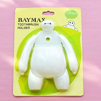 2 Pcs Baymax Toothbrush Holder Bathroom Kitchen Toothbrush Suction Cups-Justt Click