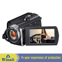 3.0 inch TFT rotation screen handy digital video camera with MAX.16Mega pixels CMOS sensor-Justt Click