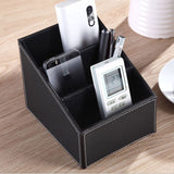 3 Cell Storage Box Desk Stationary Cosmetics Organizer-Justt Click