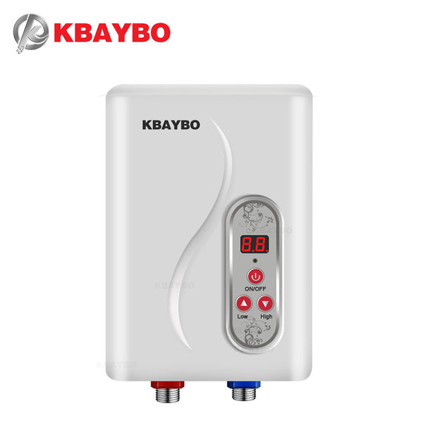 7000W Instantaneous Water Heater Instant Electric Tankless Water Heater Instant Electric Water Heating Shower 3 seconds hot - Justt Click