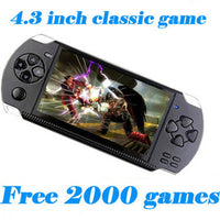 Video Game Console 4GB Free 2000 games 4.3 inch MP5 Players-Justt Click