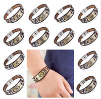 Hot Selling Europe Fashion 12 zodiac signs Bracelet With Stainless Steel Clasp-Justt Click