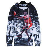 Fashion Jordan Hoodies Men 3d Print Painting Sweatshirt Designer Men's Sweatshirts Crewneck Men/women's Harajuku Hoody - Justt Click