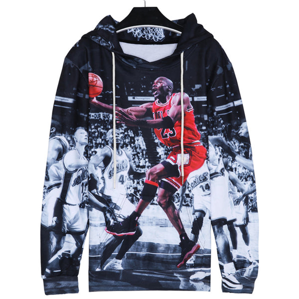 Fashion Jordan Hoodies Men 3d Print Painting Sweatshirt Designer Men's Sweatshirts Crewneck Men/women's Harajuku Hoody-Justt Click