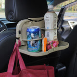 Auto Drink Food Cup Tray car folding table Hot Selling car cup holder Holder Stand Desk Car Back Seat Table Car Accessories-Justt Click
