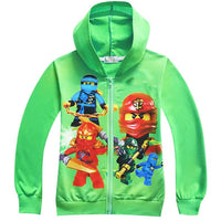 Autumn Kids Clothes Ninjago Children Hoodies Long Sleeve Girls Clothes Tracksuit Baby Boys Clothing Kids Casual Costume - Justt Click