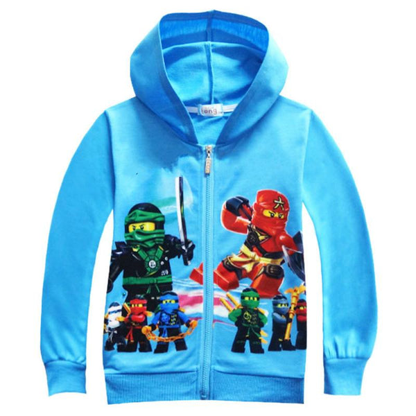 Autumn Kids Clothes Ninjago Children Hoodies Long Sleeve Girls Clothes Tracksuit Baby Boys Clothing Kids Casual Costume-Justt Click