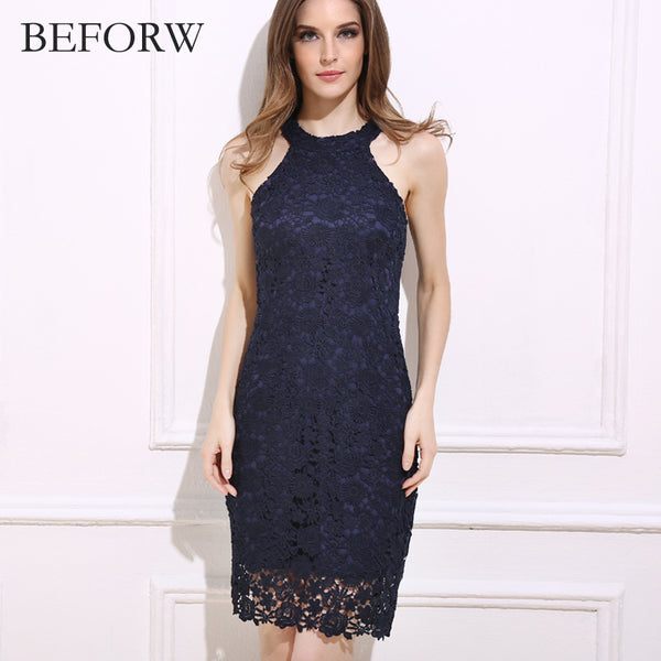 6aac7f3a621c Sunny Co Clothing Fashion Summer Women Dress Hollowed Out Sexy Mini Dresses  Office Vintage Printing White Lace Dress