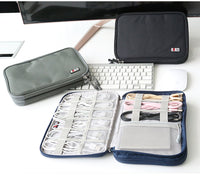 Universal Electronics Accessories Travel bag / Hard Drive Case / Cable organizer/ Protective Sleeve Pouch Case Bag for iPad-Justt Click