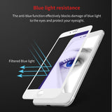 3D Frosted Edge Tempered Glass Screen Protector For iPhone 6 6s 7 Plus 9H Anti Blue Light Glass Screen Protective Flim-Justt Click