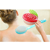 Bath Brush Long Handle Scrub Skin Shower Feet Rubbing  For Back Brushes Body Bathroom - Justt Click