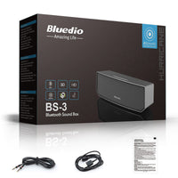 Bluedio BS-3 (Camel) Mini Bluetooth speaker Portable Wireless speaker Home Theater - Justt Click