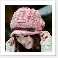 Lady Caps Acrylic Bennie Headwear Hats-Justt Click
