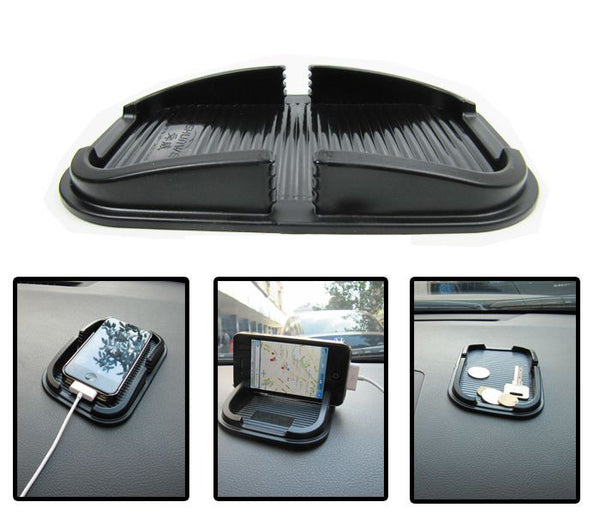 Car Dashboard Sticky Pad Mat Anti Non Slip Mobile Phone GPS Holder-Justt Click