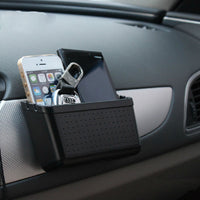 Car Storage Box Organizer Receive Holder For Mobile Phone Bluetooth Pylons Key Case-Justt Click