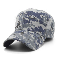 Casquette Camouflage Hats For Men Women Cotton Camo Baseball Cap Outdoor Climbing Hunting-Justt Click