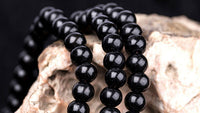 Charming Luxury Sandalwood Beads Rope Bracelet Meditation Prayer Color Black Red-Justt Click