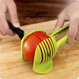 Convenient Food Fruit Vegetable Slicer Tomato Onions Slicing-Justt Click