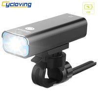 Cycloving LED Bicycle light Bike headlight waterproof 1200lumens 5modes recharageable bike accessories-Justt Click