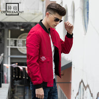 New Autumn Winter Bomber Jacket Windbreaker Men Coat Men Windbreaker Fashion Casual Coats Slim Fit Brand Clothing-Justt Click
