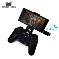 Data Frog Android Controller 2.4 G Wireless Gamepads Universal Joystick For Android Smart Phone For PC Tablet For PS3 Console-Justt Click