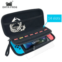 Data Frog Protective Hard Carry Case For Nintend Switch Travel Anti Shock Storage Bag For Nintendo Switch Game Accessories - Justt Click