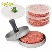 Round Shape Hamburger Press Hamburger Meat Beef Grill Burger Press Patty Maker Mold-Justt Click