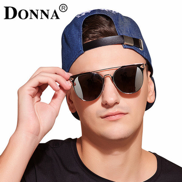 Donna Fashion Sun Glasses Oversize Round cat Eye Glasses-Justt Click