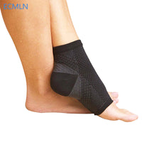 Elastic Men Comfortable Foot Sleeve Men's Socks Anti Fatigue Women Circulation Ankle Socks - Justt Click