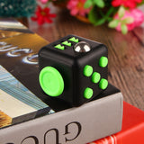 Elsadou Fidget Cube Christmas Gift Puzzle Magic Stress Cube Toy-Justt Click