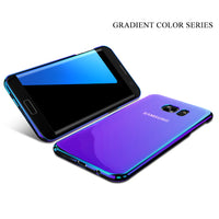 For iPhone 7 7 Plus Case For 6 6S Plus 5 5S SE Blue Ray Phone Cover Cases For Samsung S8 S8 Plus-Justt Click