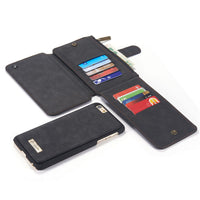 Apple iphone Case Wallet Genuine Leather - Justt Click