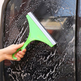 Plastic Silicone Blade Car Window Glass Wiper For Bathroom Tile Mirror-Justt Click