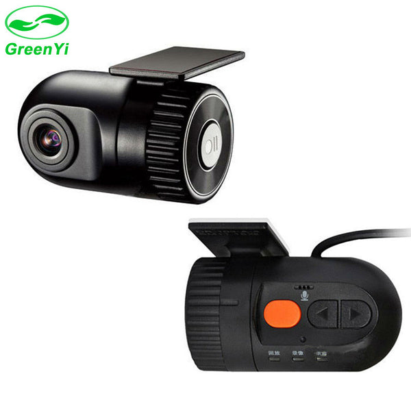 GreenYi 1280*720P Car DVR Camera Digital Video Recorder with 120 wide-angle Lens G-sensor Night Vision for Android DVD Players-Justt Click