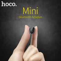 HOCO E7 Mini Earpiece In Ear V4.1 Wireless Bluetooth Headset Headphone with Mic-Justt Click