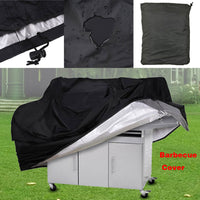 BBQ Cover Black Waterproof BBQ Accessories Grill Cover Anti Dust Rain Gas Charcoal Electric Barbeque Grill S-XL-Justt Click