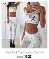 Vest Tank Top Leggings Tracksuit Clothing Fitness White Patchwork Gym Sportswear Outfits Sport Suit Women 2 Piece Yoga Set-Justt Click