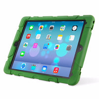 For Apple iPad Pro 9.7 inch Case Silicone Hybrid Rugged Armorbox Kickstand Case Cover-Justt Click
