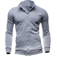 2017 Male Hoodies and Sweatshirts Fashion Mens Hoodie Front Zipper Spring Autumn Casual Wear Male Hoodies-Justt Click