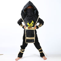 Halloween Kids Ninja Costumes Halloween Party Boys Girls Warrior Stealth samurai Cosplay Assassin costume party fancy dress-Justt Click