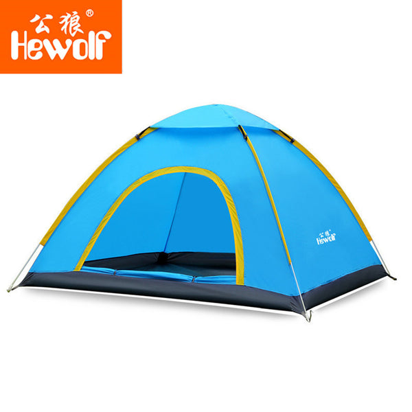 Hewolf Ultralight 2 Person Quick Open tent Waterproof Fully Automatic Tent 4 seasons-Justt Click